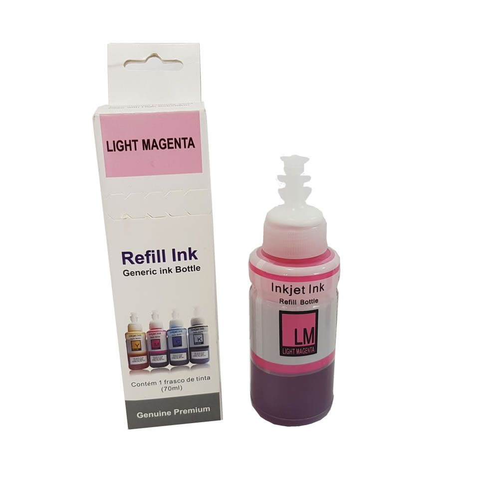 Refil de Tinta Epson Magenta Light 70ml Compatível
