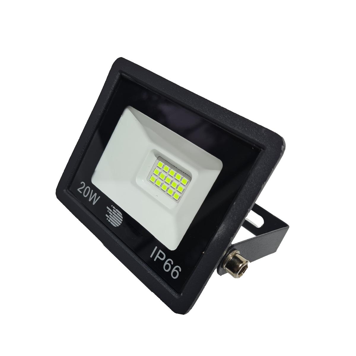Refletor LED 20W SMD Holofote Iluminação Externa Bivolt IP66 Luz Verde