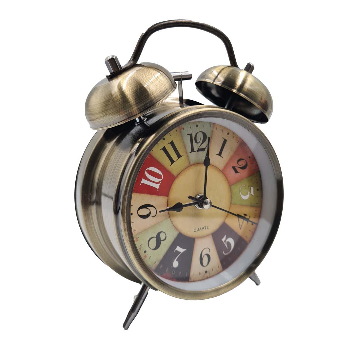 Relógio Retrô com Despertador Vintage Cassino