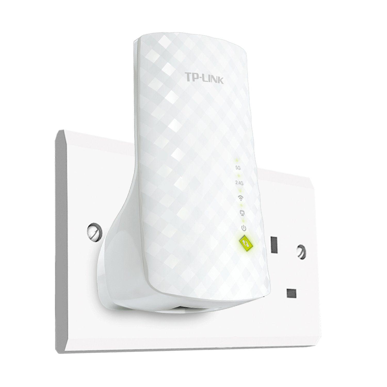 Repetidor de sinal wifi 750Mbps AC750 RE200  Extender TP-Link