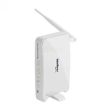 Repetidor Wireless WRN 240 para Rede Sem Fio 150 Mbps Antena Removivel Intelbras