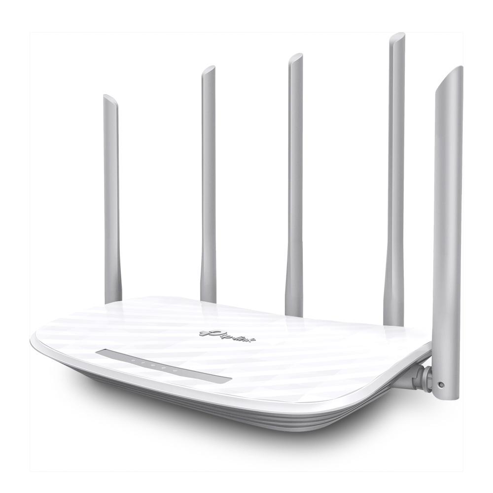 Roteador Wireless Dual Band com 5 Antenas AC1350 Archer C60 TP-Link