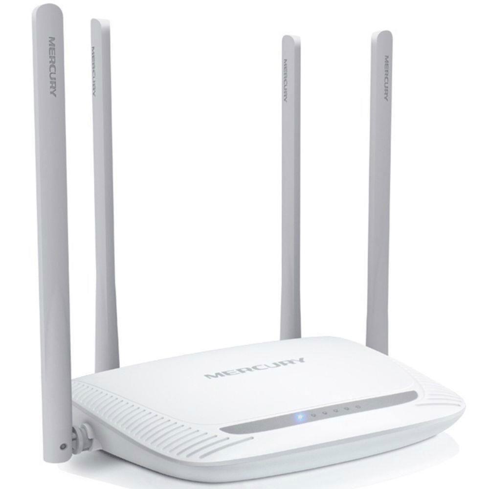 Roteador Wireless N Otimizado 300Mbps Marcusys 5dBi Quatro Antenas