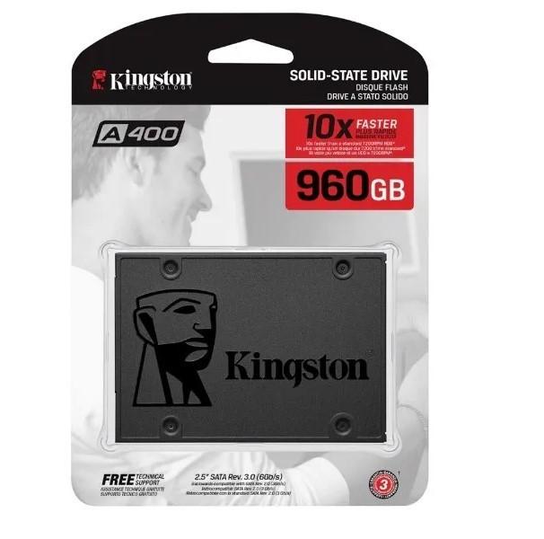 SSD 960gb A400 Sata3 2,5 7mm Sa400s37/960g Kingston