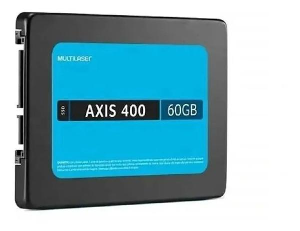 SSD Sata 2.5pol 60GB AXIS400 Multilaser
