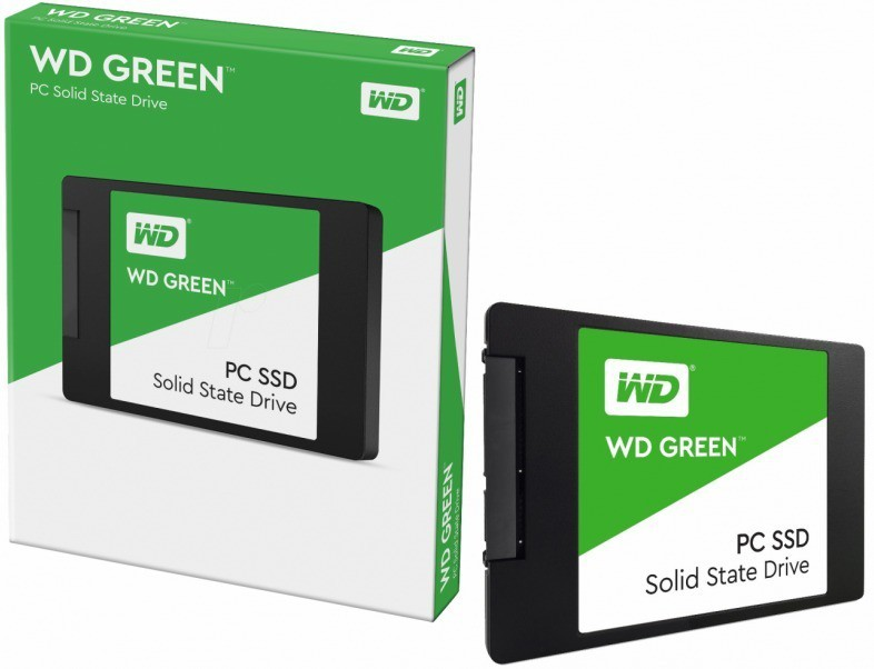 SSD WD 120Gb 2.5 7mm Wds120G2G0A WD Green
