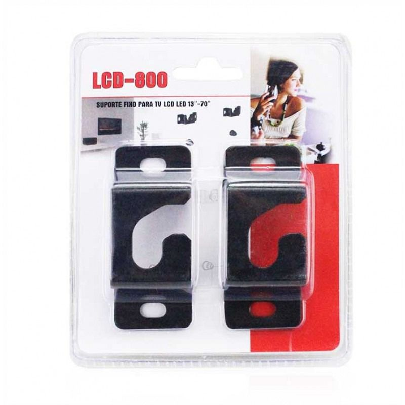 Suporte Fixo para TV LCD LED 13 à 70 Polegadas LinkSky LCD-800