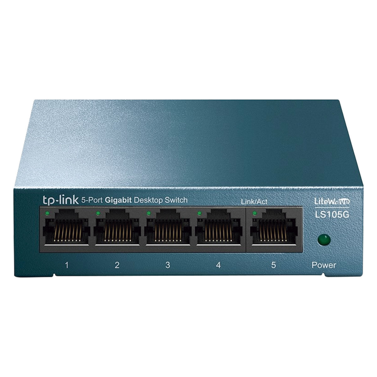 Switch de Rede 05 Portas 10/100/1000 Gigabit LiteWave TL-LS105G Tp-Link