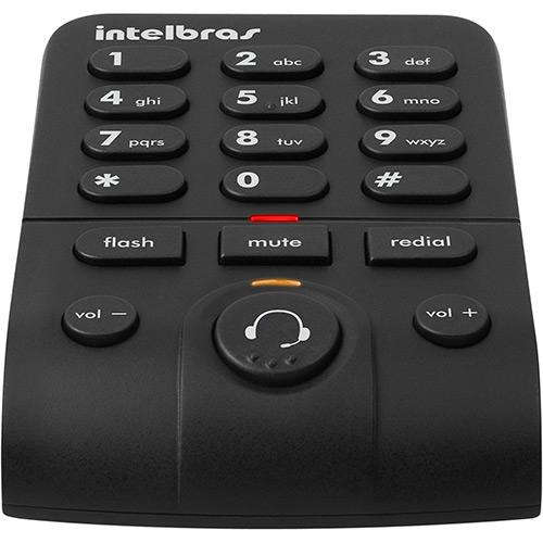 Telefone Headset com Base Discadora Intelbras HSB50