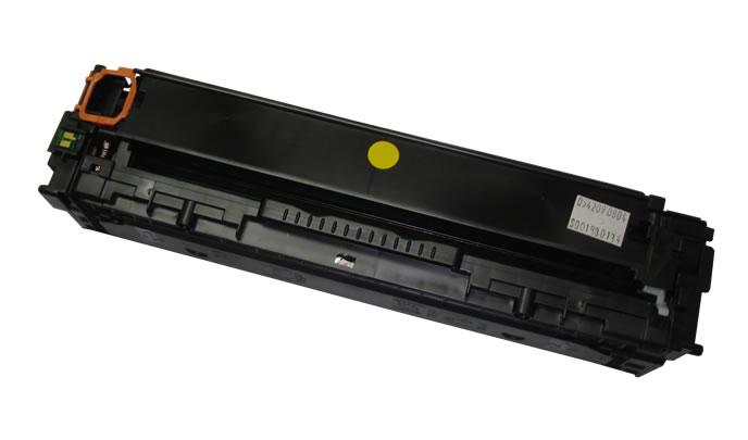 Toner CH Cb542a Cb 542 Amarelo Compatível com Cp 1210 Cp 1215 Cp 1515 da HP