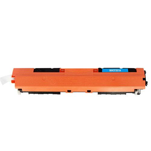 Toner Compatível Cf351a Ciano para HP Laserjet Pro Mpf M176n M177nw
