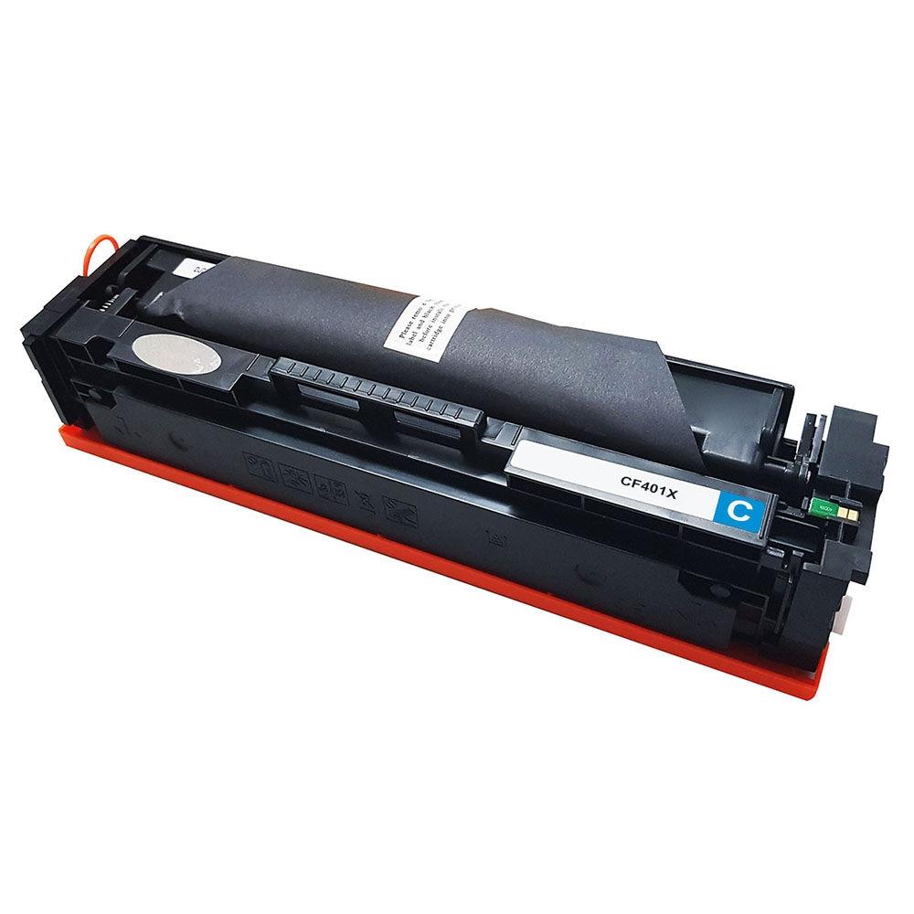 Toner CF401X Ciano Chinamate 2.3k Compatível com M252DW M277DW da HP