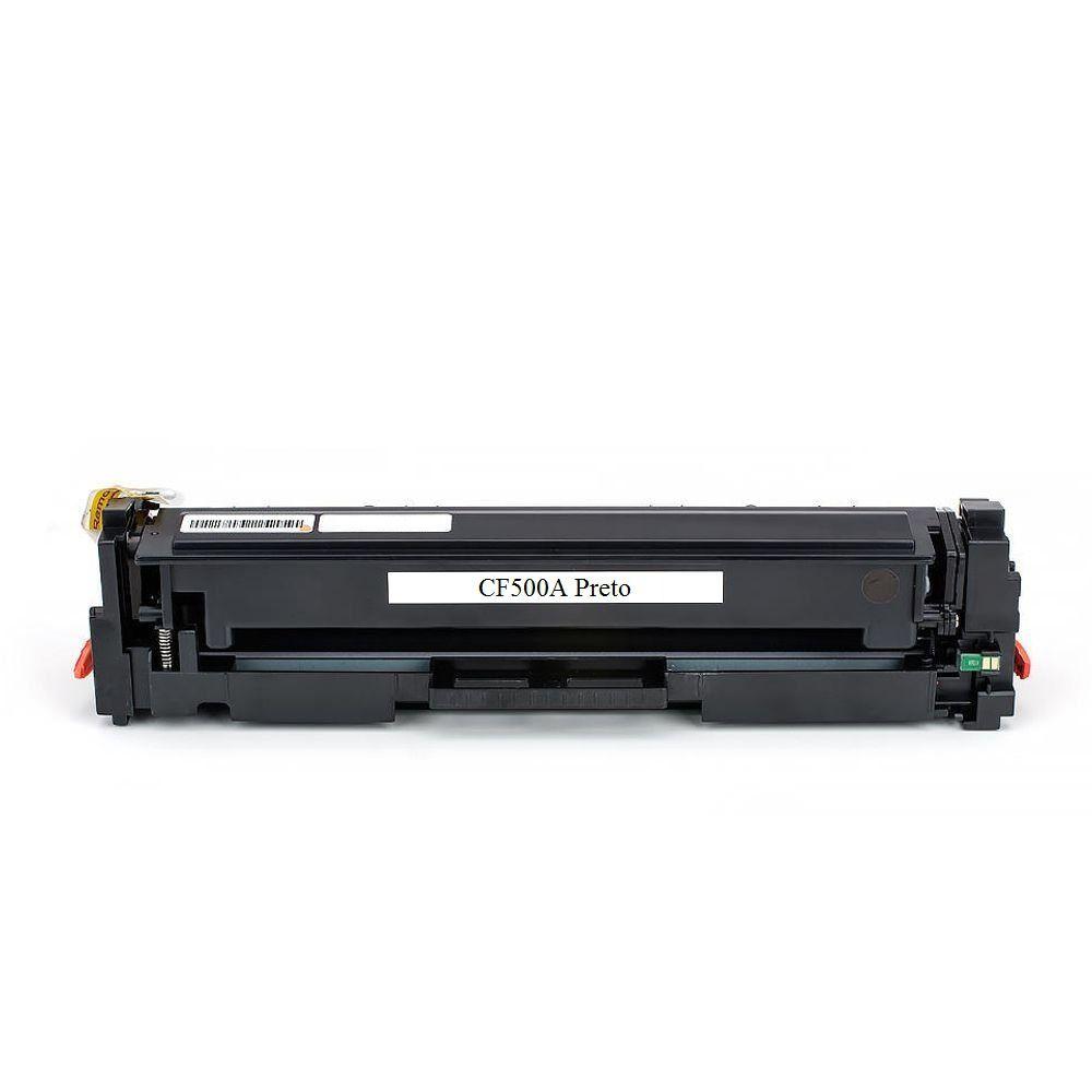 Toner EV CF500A Preto Compatível com M284FDW M254DW da HP