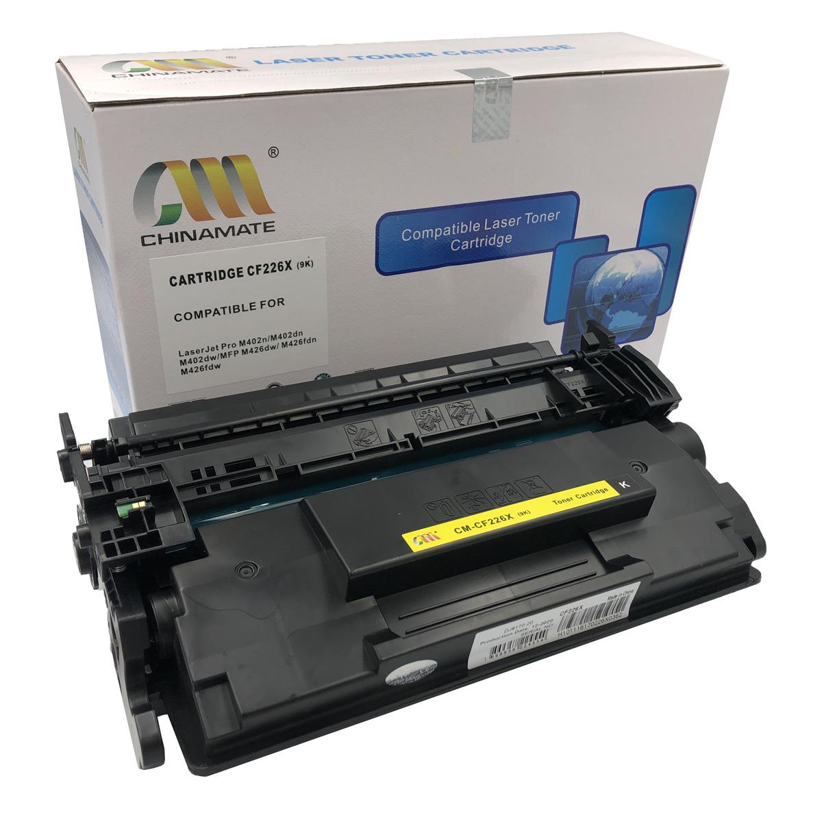 Toner CF226X Chinamate Compatível com M426FDW M402DN da HP