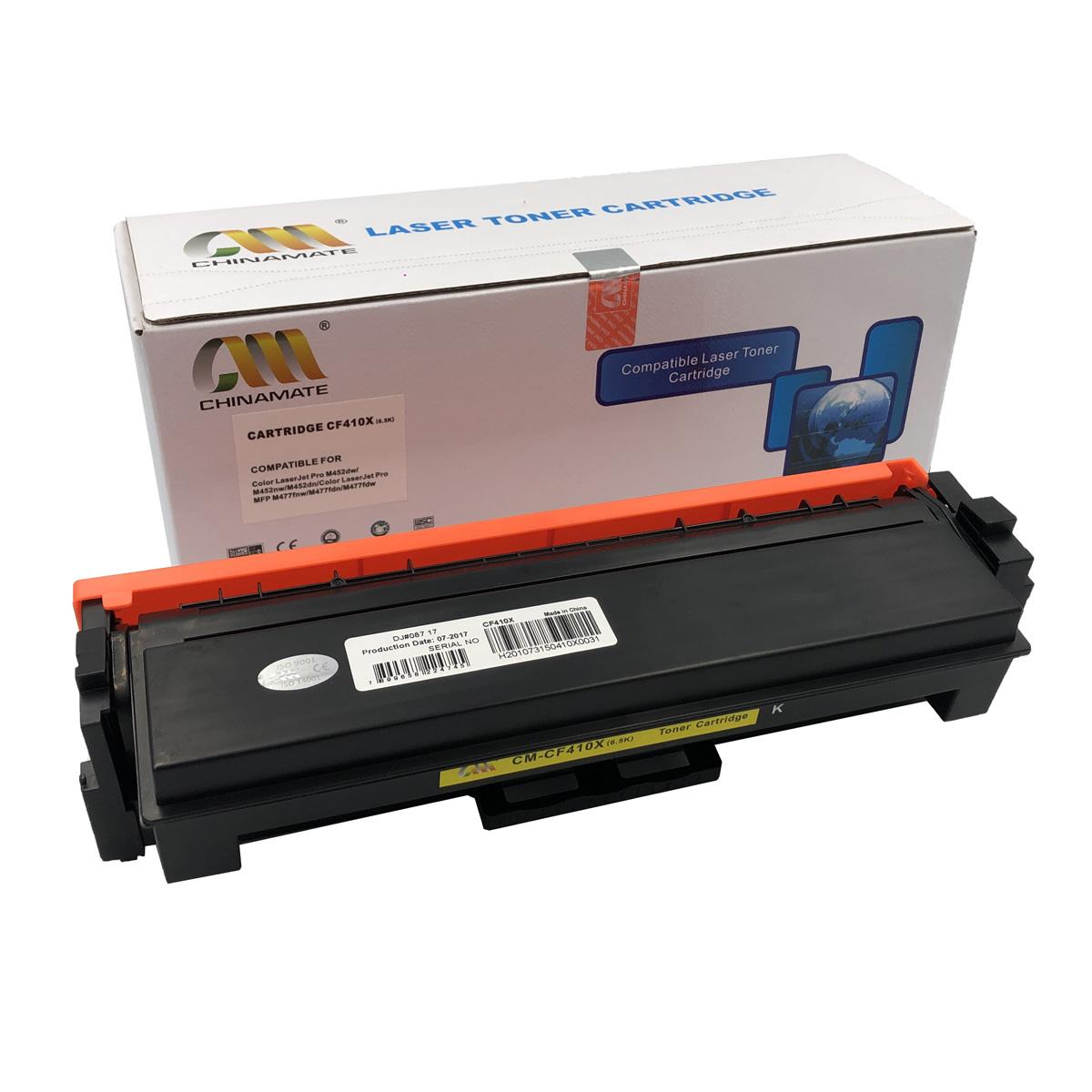 Toner CF410X Preto Chinamate Compatível com M452DN M477FDN da HP