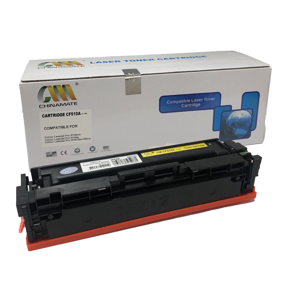 Toner CF510A Chinamate Compatível com M154A MFP M180N da HP