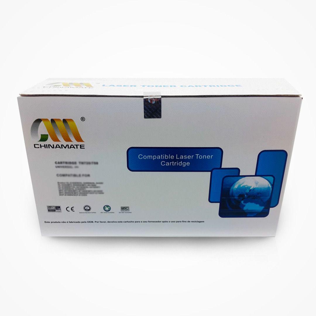 Toner TN720 TN750 Chinamate Compatível com DCP8150DN DCP8155DN HL5450DN da Brother