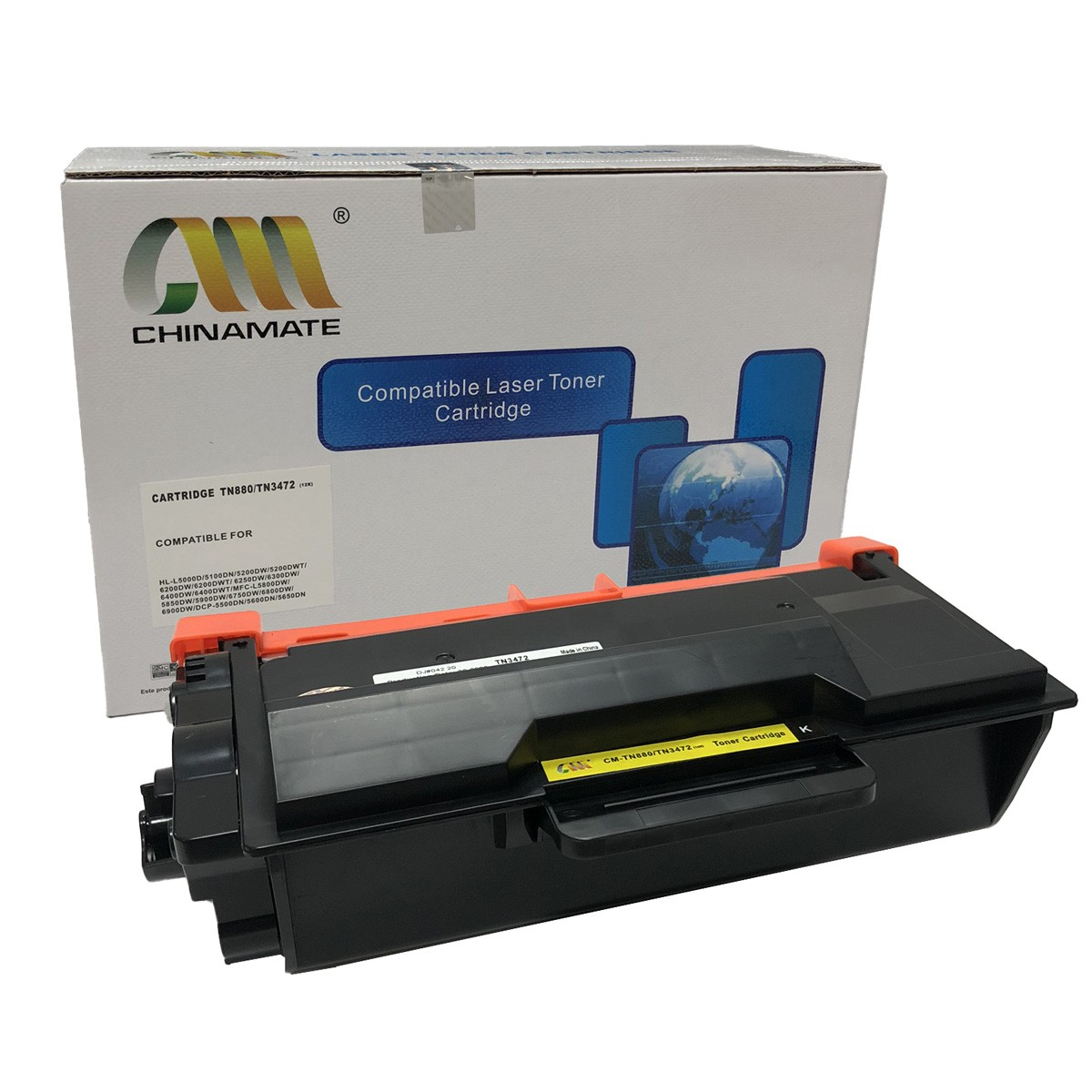 Toner Chinamate TN880 Compatível com L5102 L6202 DCP-L5502DN L5602DN da Brother