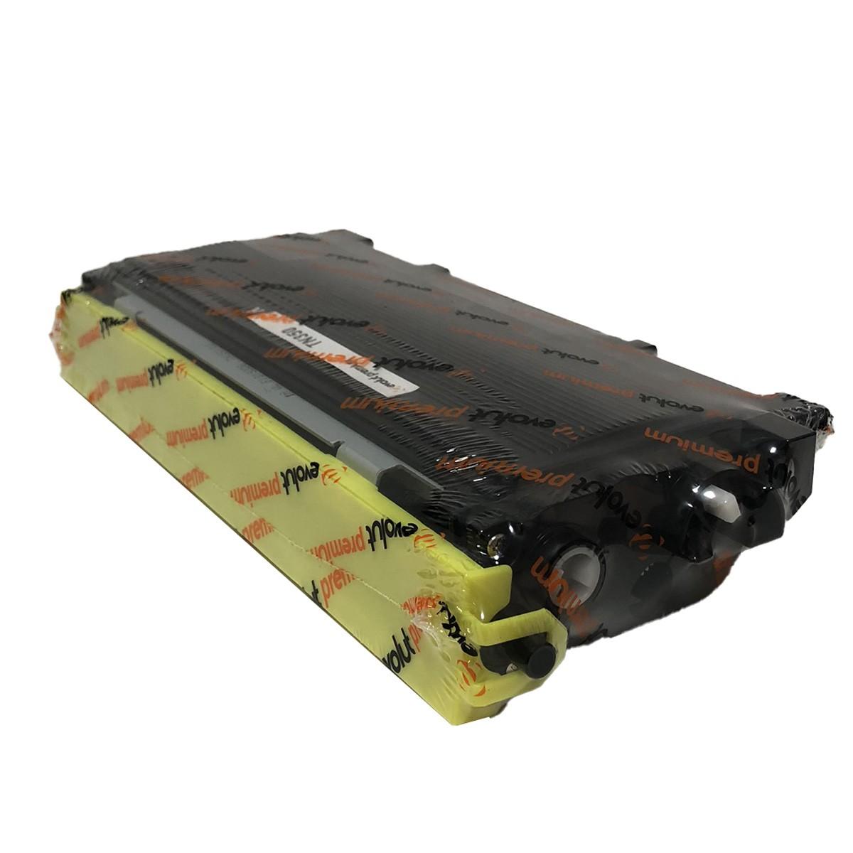 Toner TN350 Evolut Compatível com DCP-7020 HL-2030 MFC-7820N da Brother