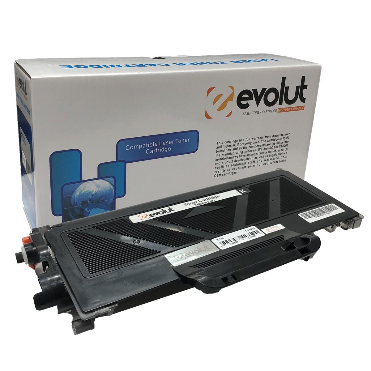Toner TN360 Evolut Compatível com HL2140 2150N 2170N 2170W DCP7030 7040 MFC7045 7320 7340 7450 7440 7440N 7840W