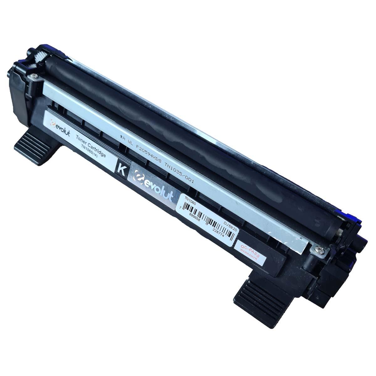 Toner TN1060 Evolut Compatível com HL-1212W DCP-1612 1510R da Brother