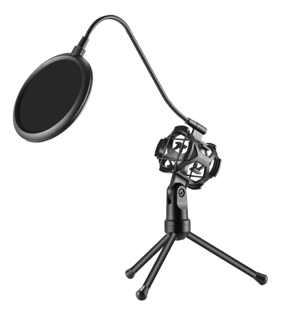 Tripé com Suporte para Microfone MT-1024 Tomate