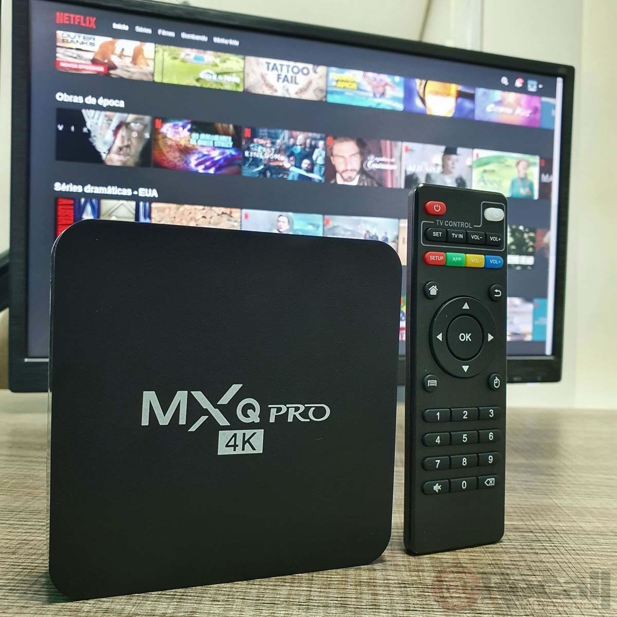 Tv Box 4k Android Smart 1080p 4K 16Gb RAM 256Gb Android 11.1 TVbox para TV Smart