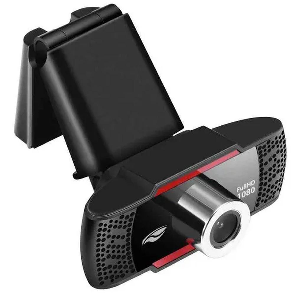 Webcam HD 1080p com Microfone para Videoconferência C3Tech WB-100