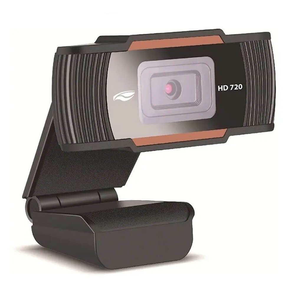 Webcam HD 720p com Microfone para Vídeo Conferência WB-70 C3Tech