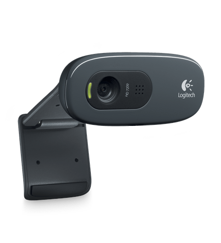Webcam HD 720p Widescreen 3MP Logitech c270