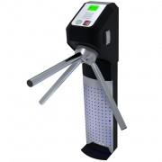 Catraca Eletrônica Lumen Adv Leitor Biométrico e Proximidade