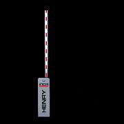 Cancela Controle de Acesso Inca Alto Fluxo Veicular Braço 3m