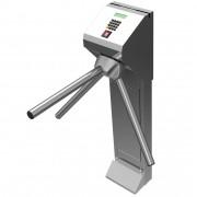 Catraca Pedestal Inox Leitor Biométrico e Proximidade