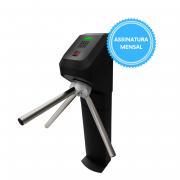 Catraca Lumen Black Leitor Biométrico Proximidade e Software