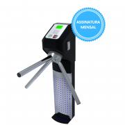 Catraca Lumen Leitor Biométrico e Proximidade com Software