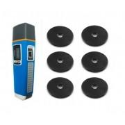 Controlador de Ronda Vigia Biometria e Prox c/ 6 Tags RFID