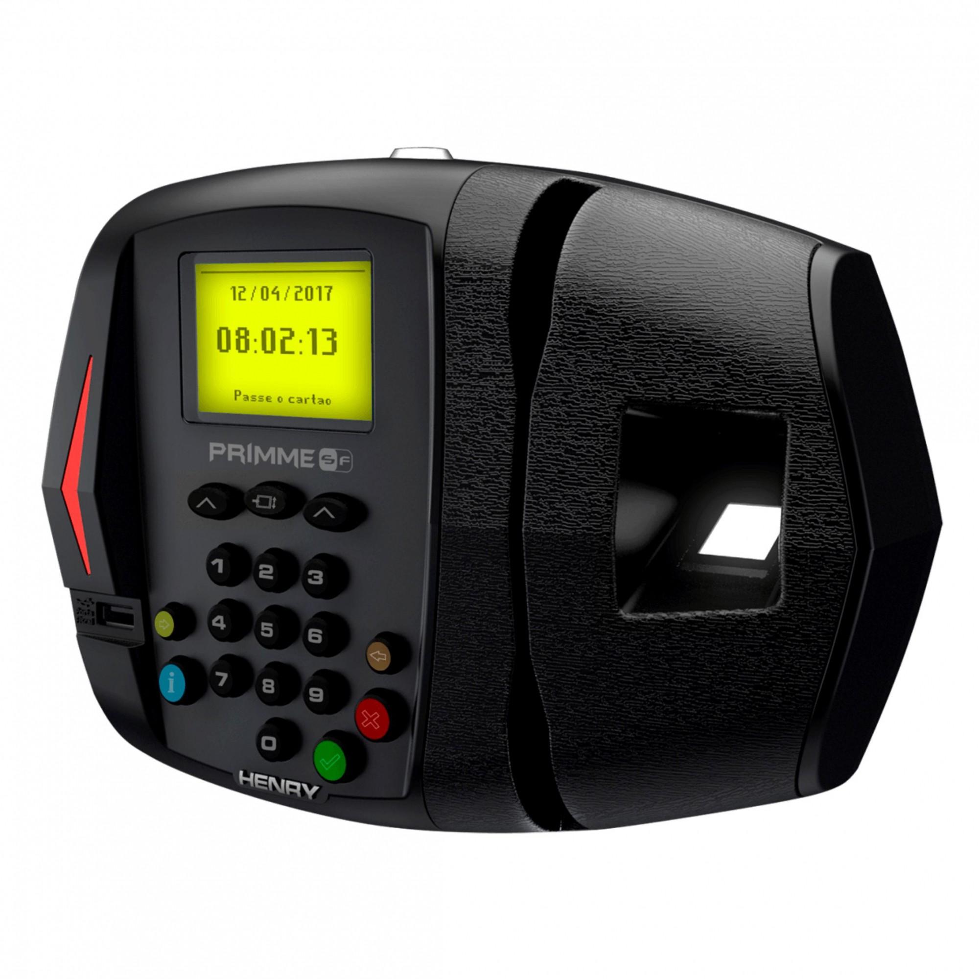 Controlador De Acesso Primme Biométrico E Código de Barras