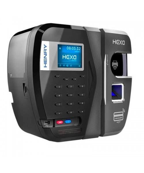 Relógio de Ponto REP Hexa Adv Biométrico Barras c/ Software