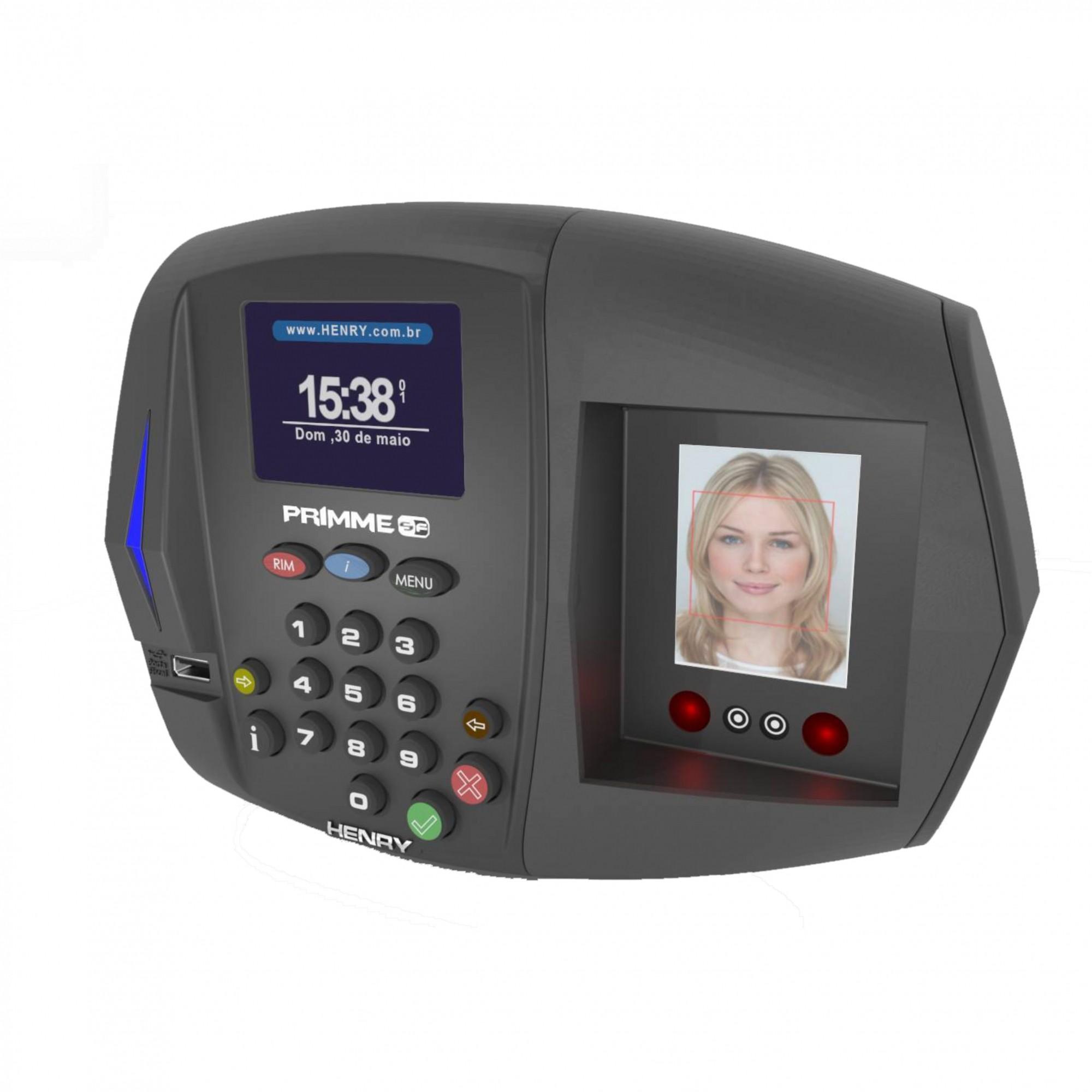 Assinatura Relógio Primme 373 Bio Facial + Software + Manutenção