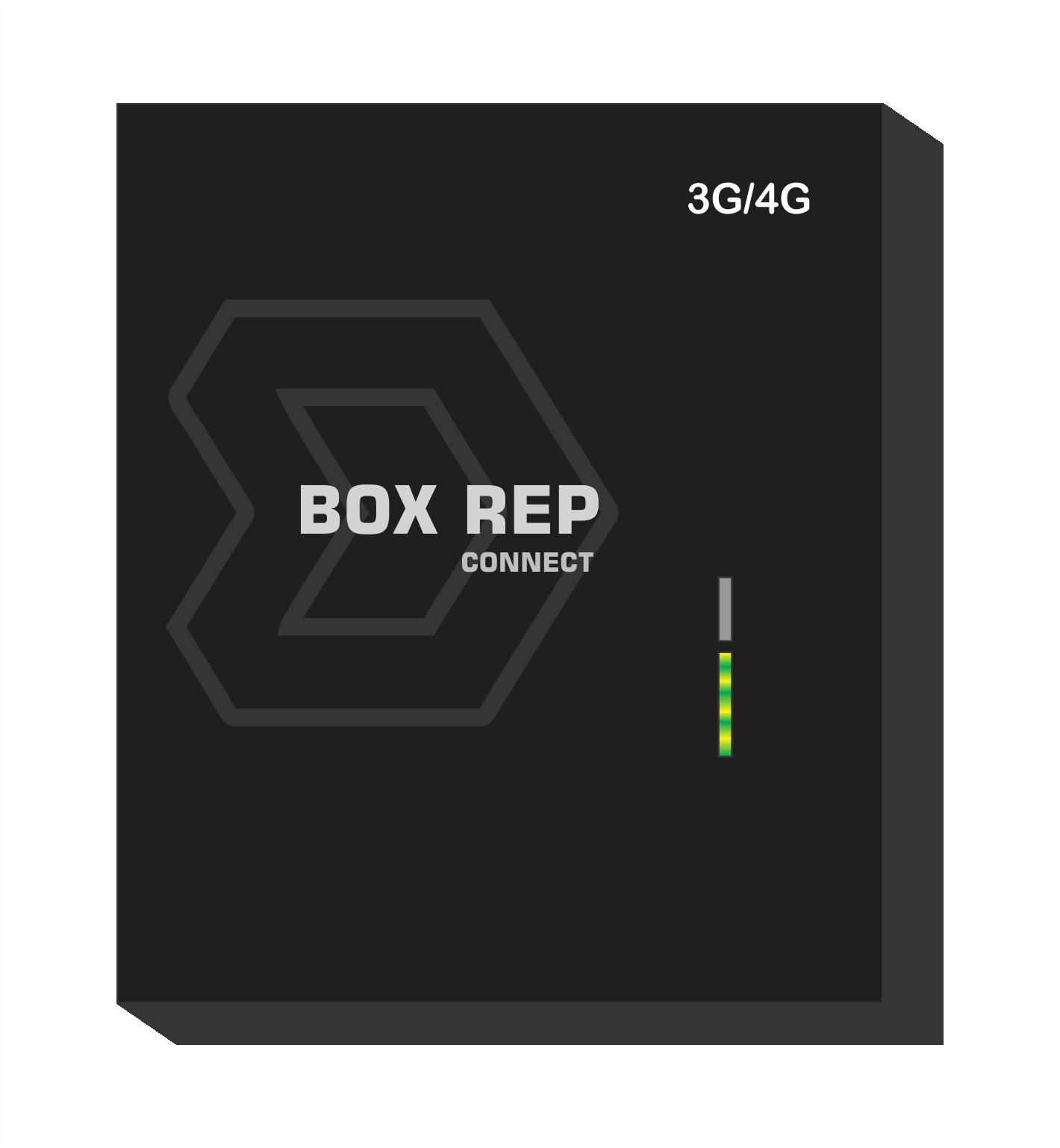 BOX REP 3G Dispositivo Comunicação Online p/ Relógio de Ponto