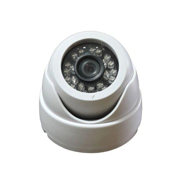 Câmera De Segurança Mini Dome Infravermelho 25 Metros