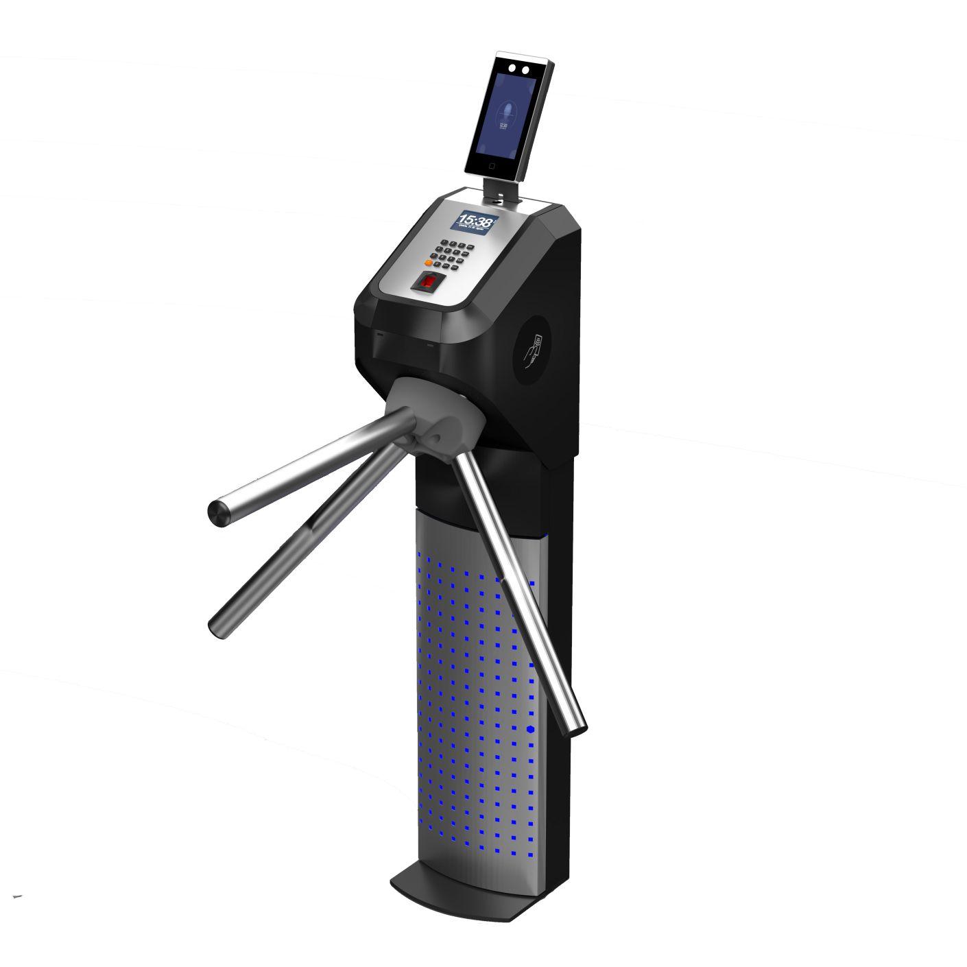 Catraca Eletrônica Biometria Facial Lumen Advance 2000 Faces