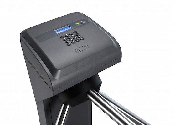 Catraca eletrônica Fit 3 LC Leitor Biométrico e Proximidade