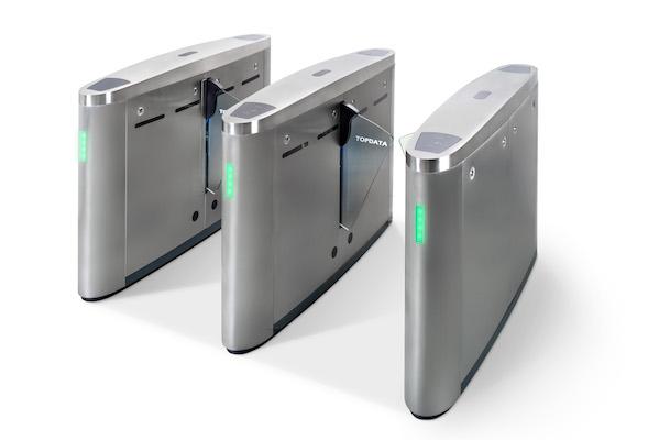 Catraca eletrônica de acesso Flap Topdata
