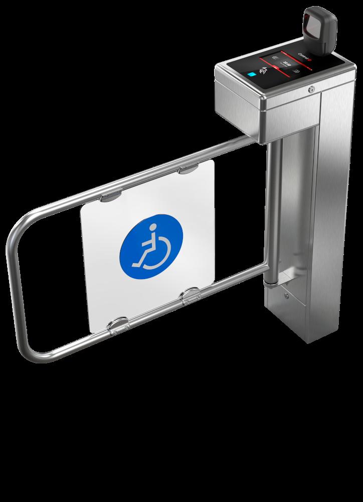 Catraca Eletrônica de acesso iDBlock QR Code Control ID