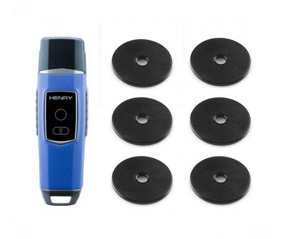 Controlador de Ronda Vigia Blue Proximidade c/ 6 Tag RFID