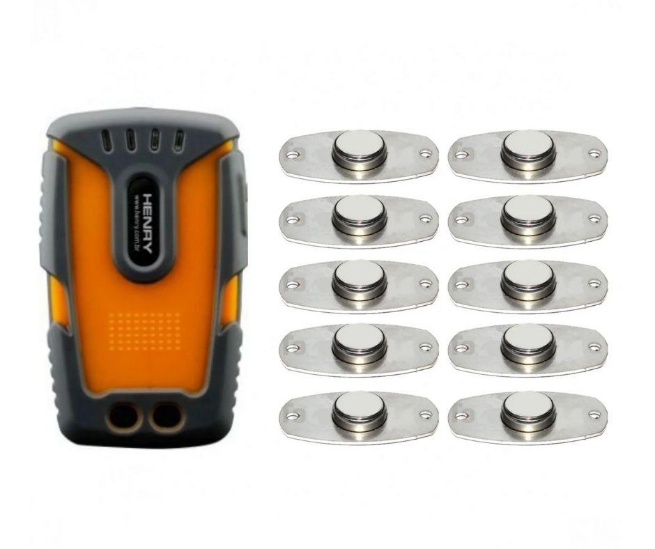 Controlador de Ronda Vigilantes Vigia 3G c/ 10 Ibuttons