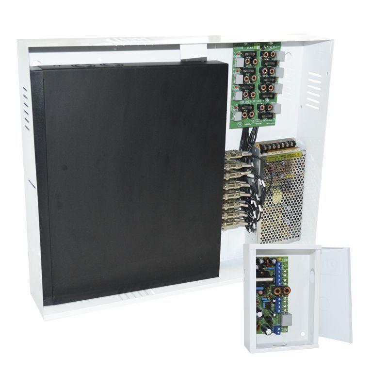 Power Balun Pvt 8 Canais Completo Rack Hd 9000 Onix