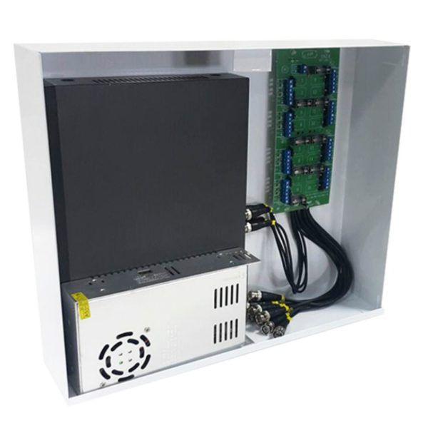 Power Balun Vertical 16 Canais Pvt Completo Híbrido Hd 8000 Onix