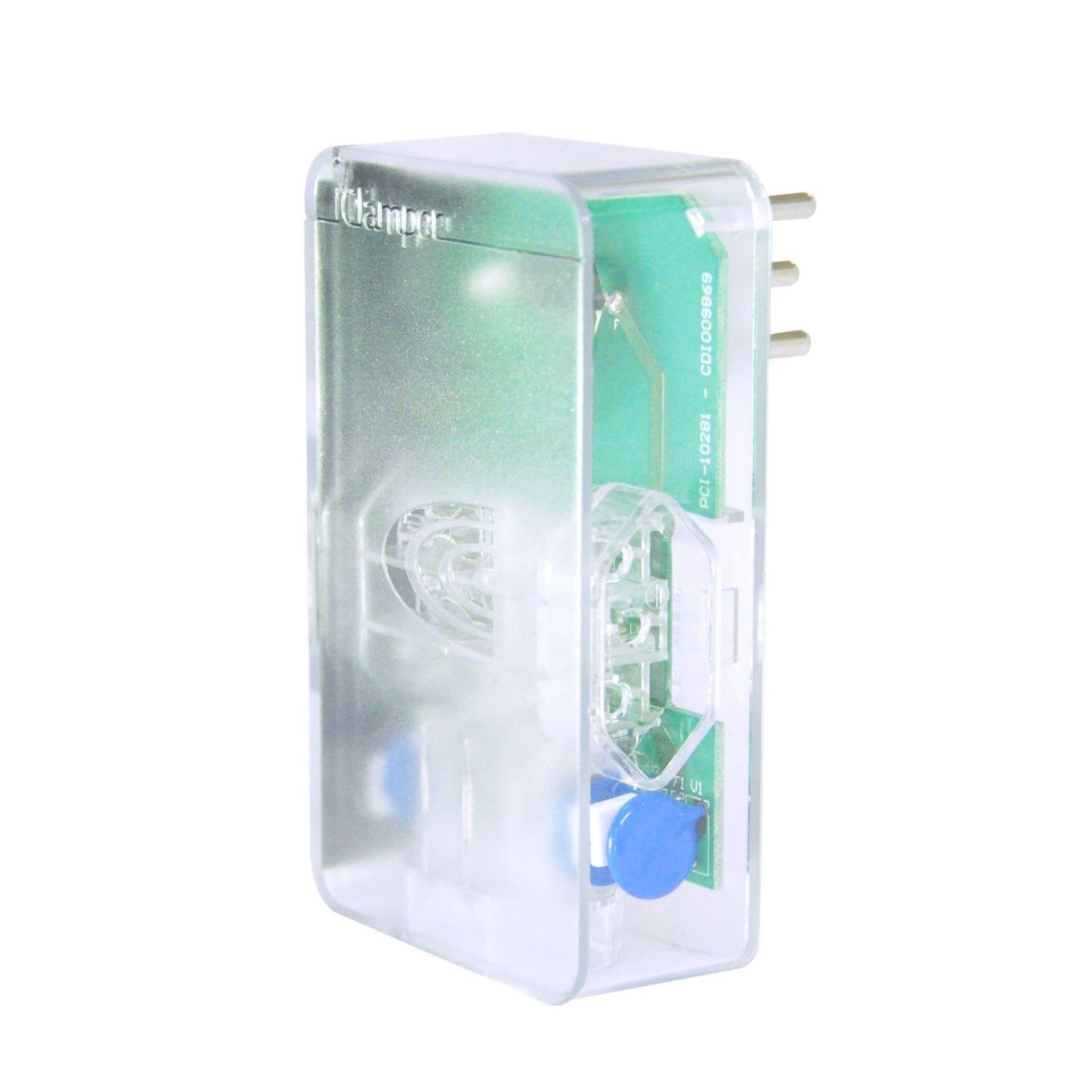 Protetor Surtos Raios Dps Energia 3 Tomadas 10647 Clamper